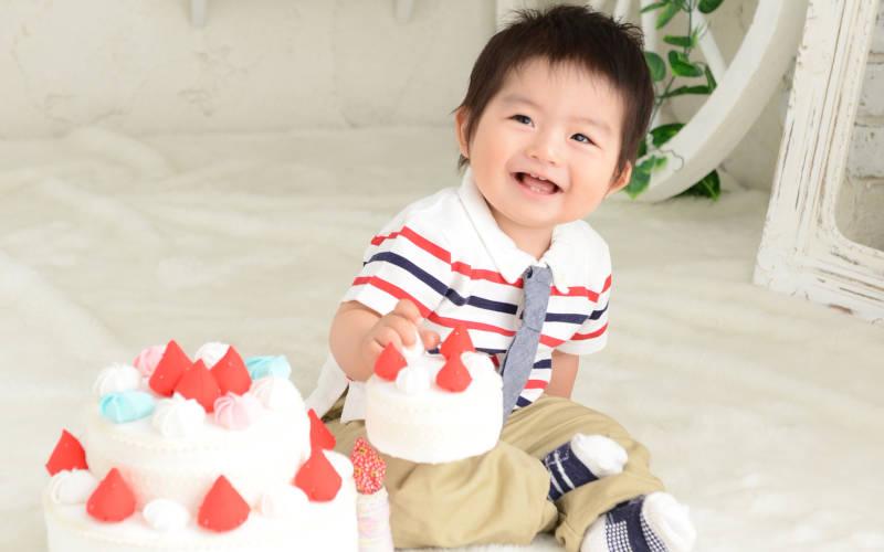 1歳誕生日写真イメージ1