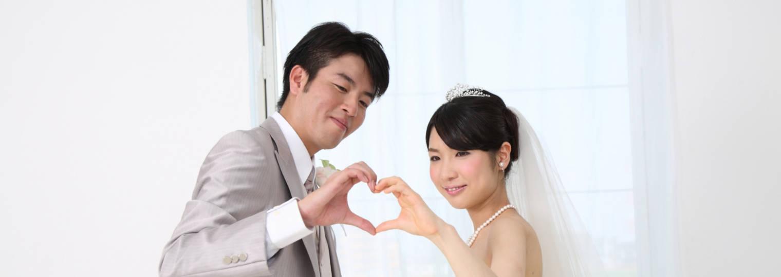 写真だけの結婚式イメージ1