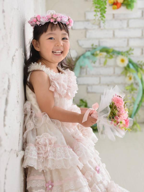 家族写真館 笑顔 七五三 3歳ドレスイメージ3モバイル